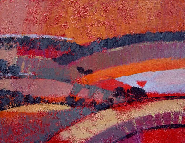 New Beginnings 2. Acrylic on Canvas. 14x18