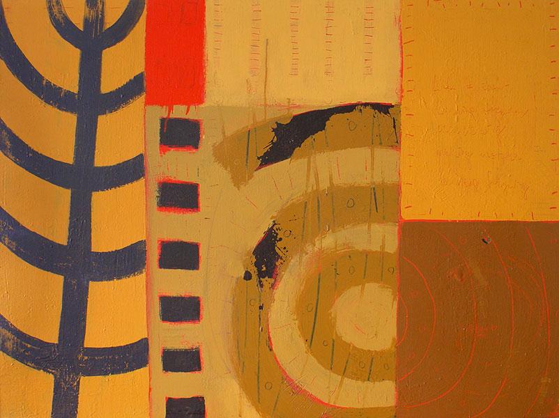 Mexico 2. Mixed Media on Canvas. 30x40