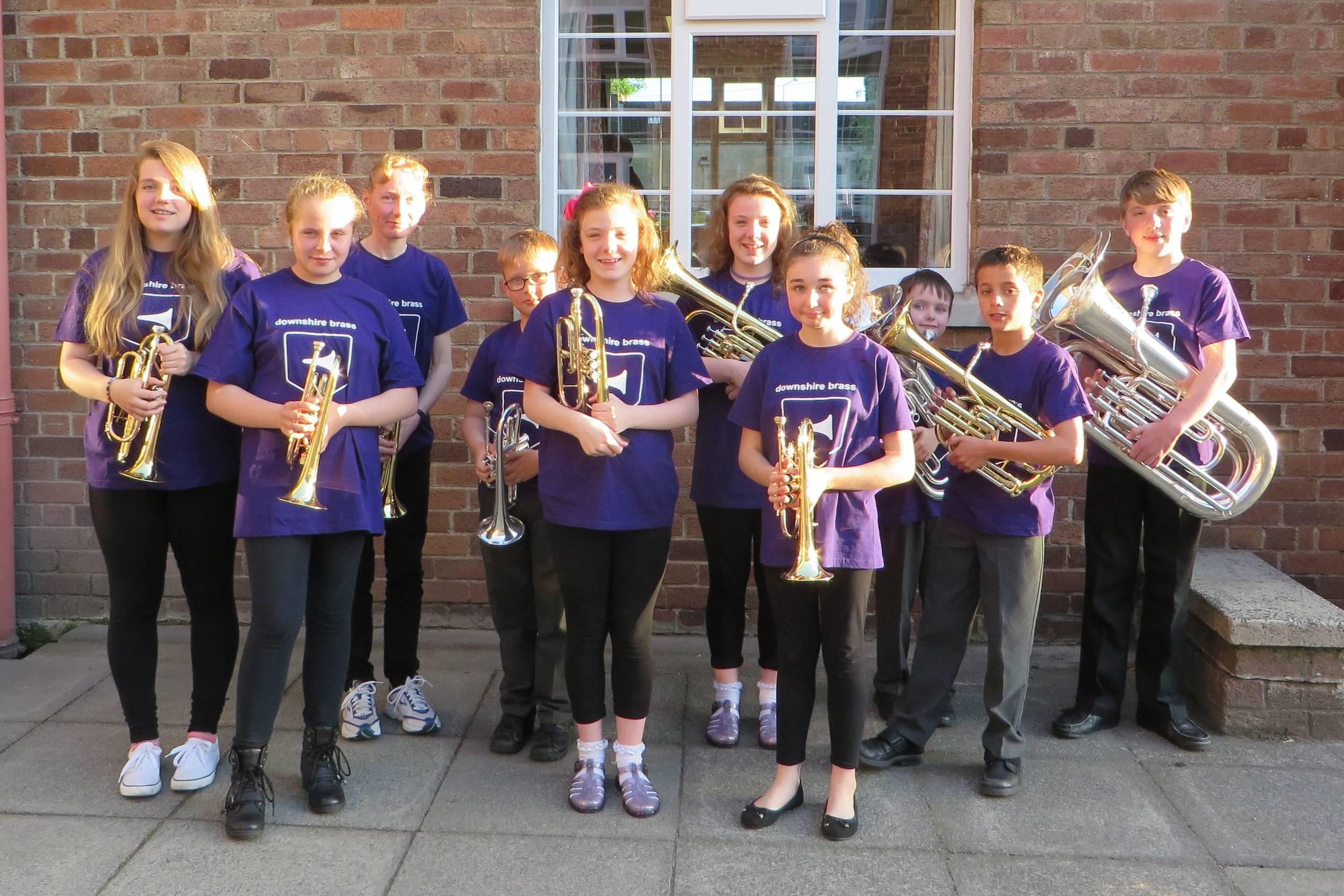 Downshire Junior Band 2014