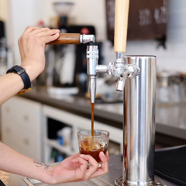 We've got cold brew back on tap!  Store hours are 8am-6pm all weekend.