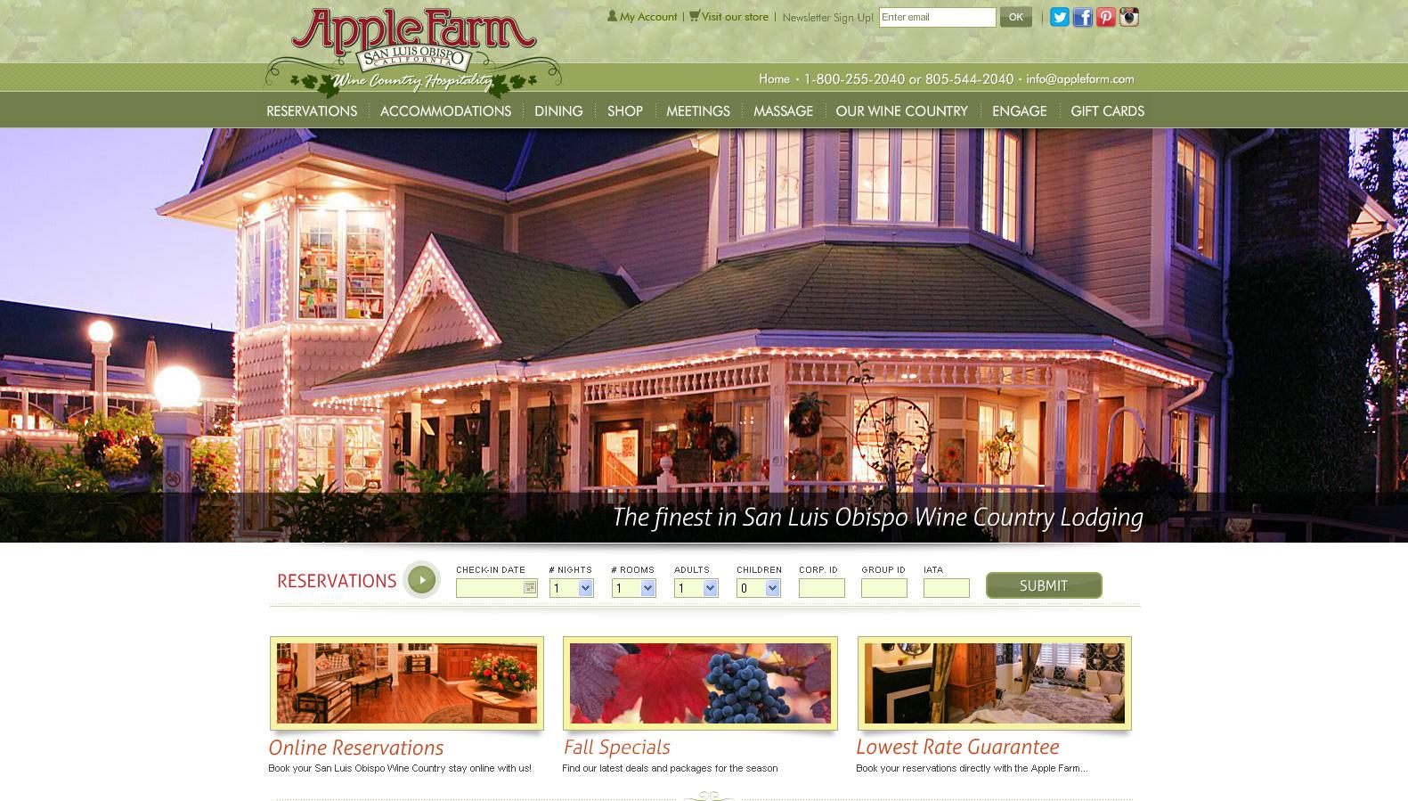 Apple Farm Inn Hotel & Lodging