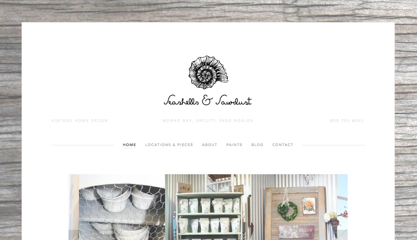 Seashells & Sawdust