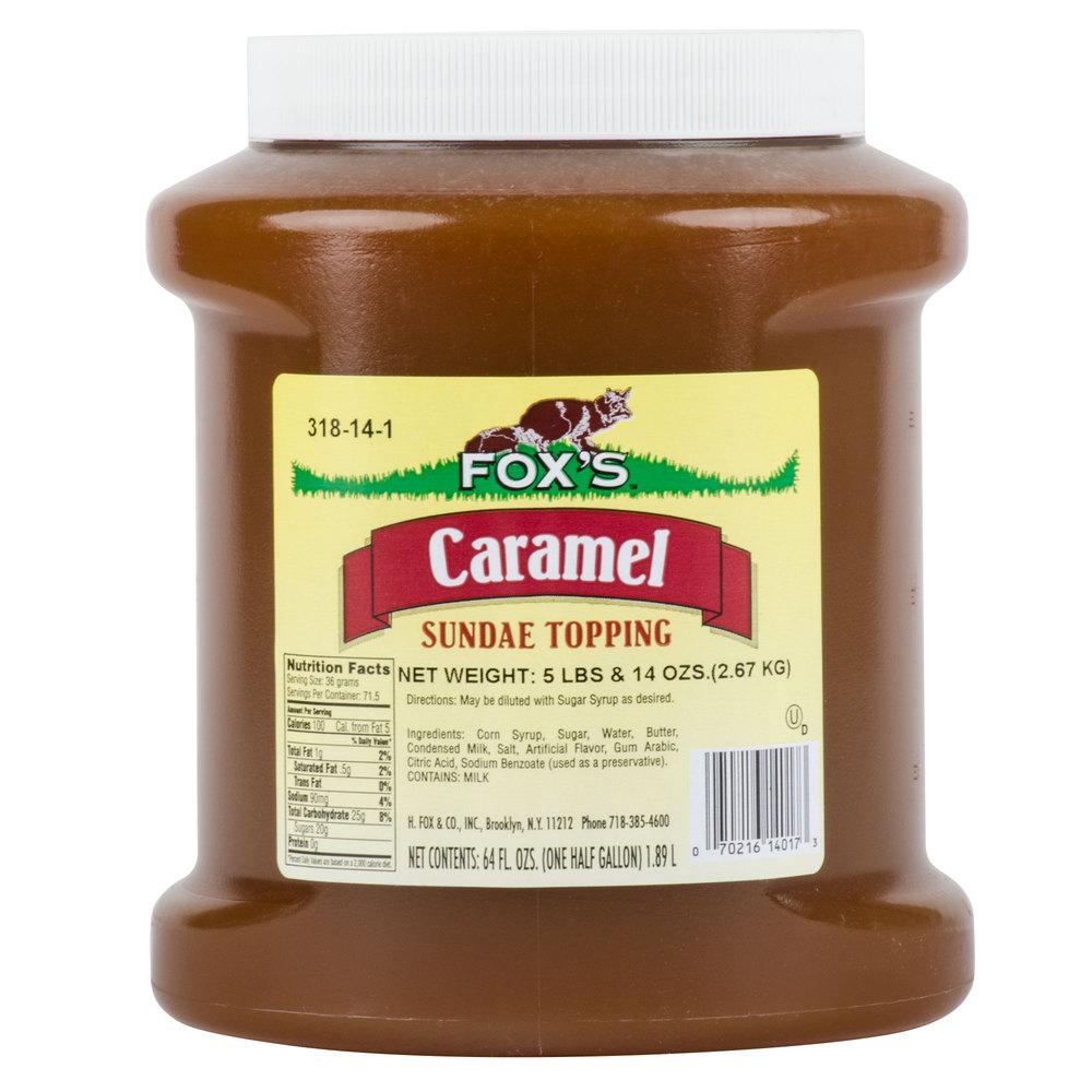 Fox's Caramel