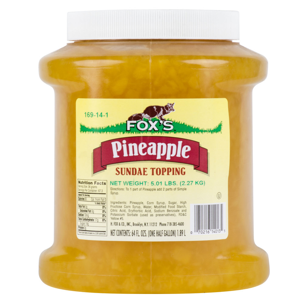 Fox's Pineapple
