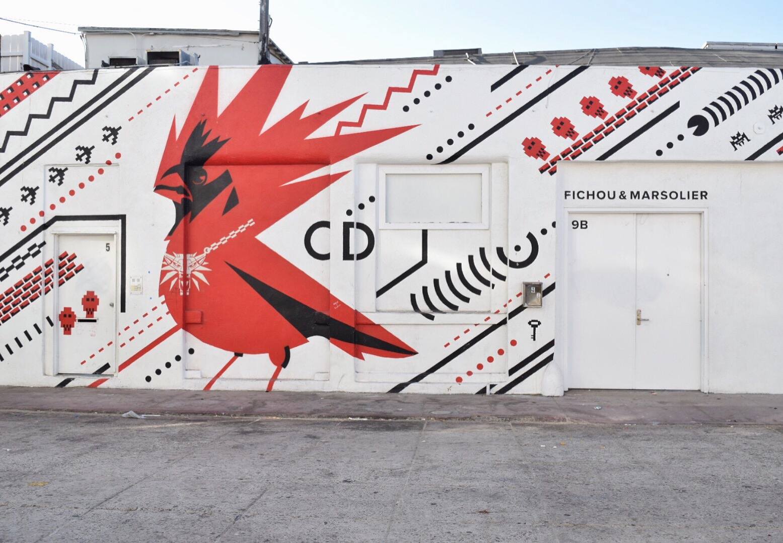 Wall art in Santa Monica