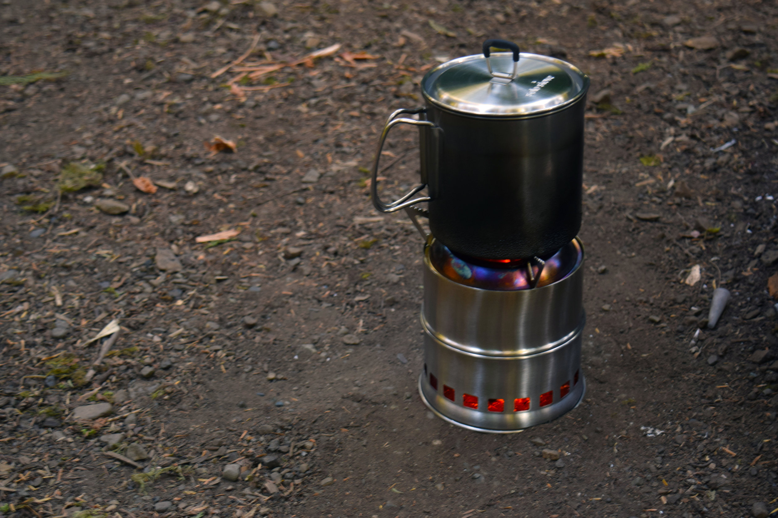 My wood burning stove actually boiled water! Fast too! I'll admit I was super skeptical at first.The only fuel I used was twigs I found in front of my tent.