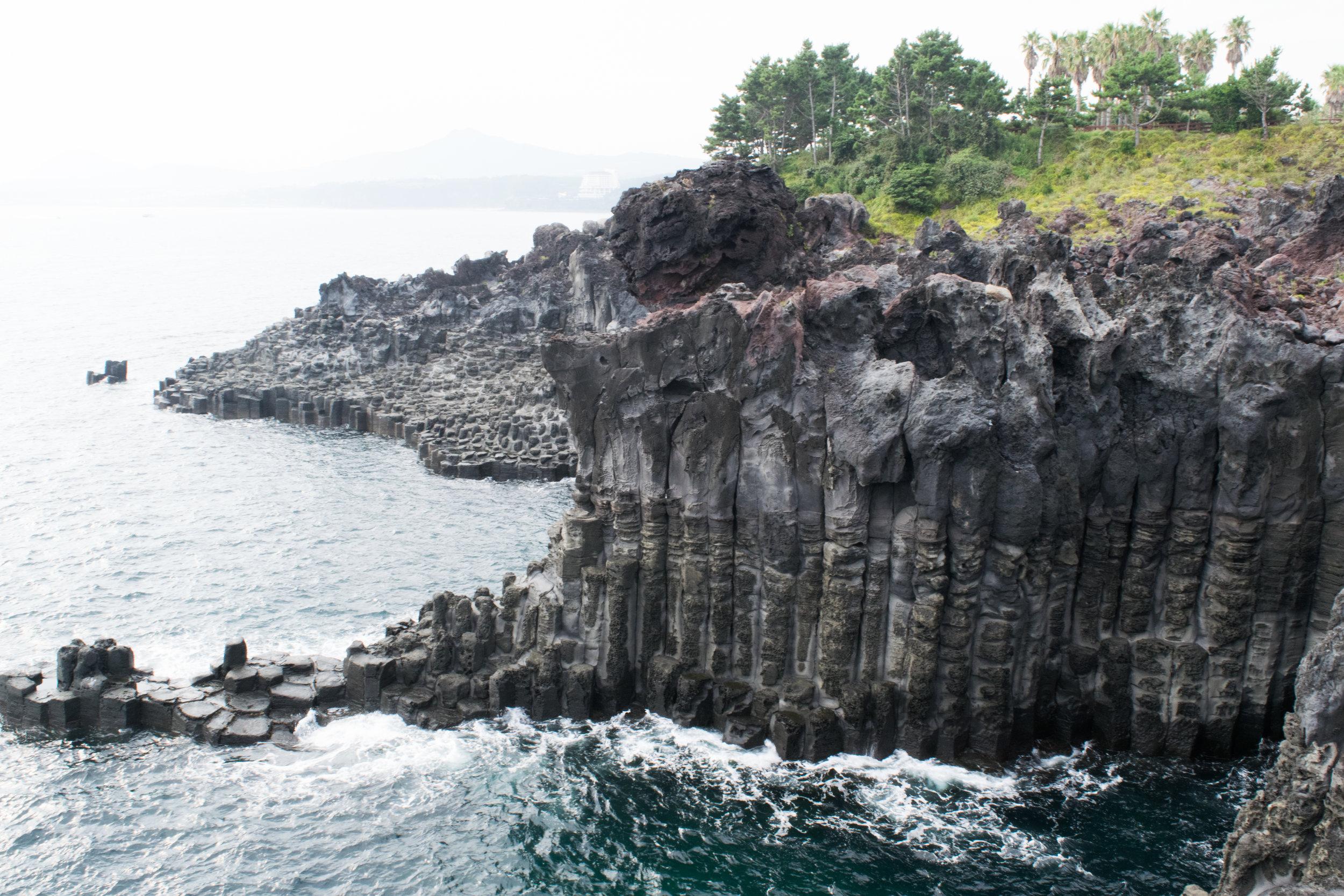 Jeju Cliff