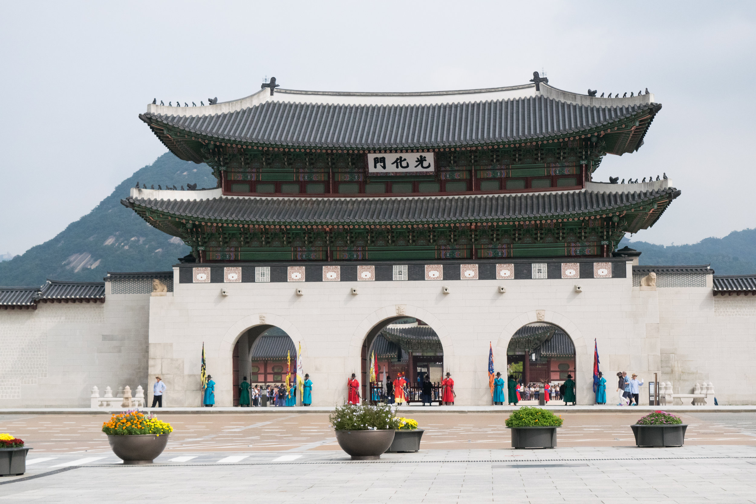 Gyeongbokgung Gate | Seoul | September 2016