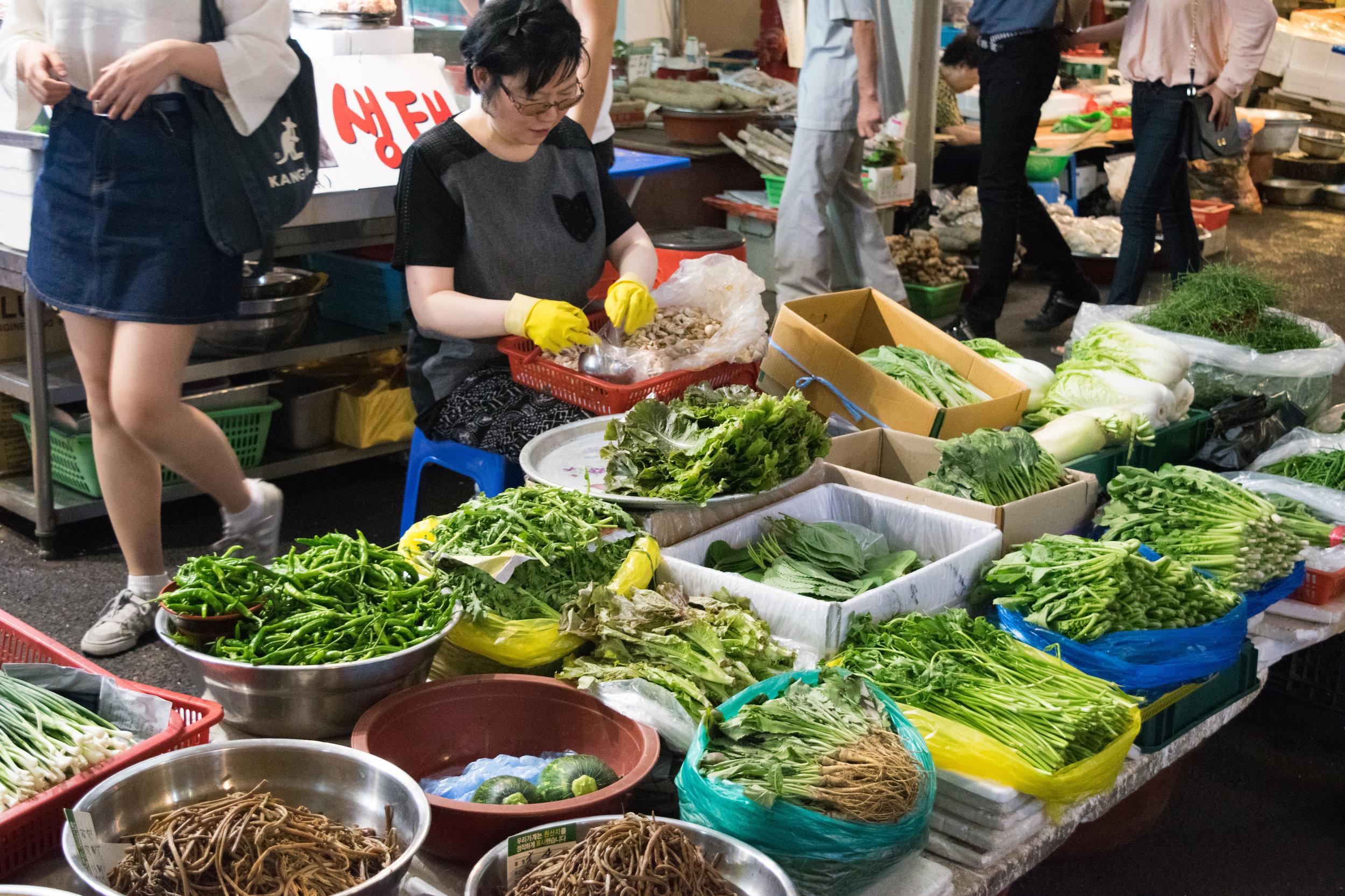 Seoul | Gwangjang Market | September 2016
