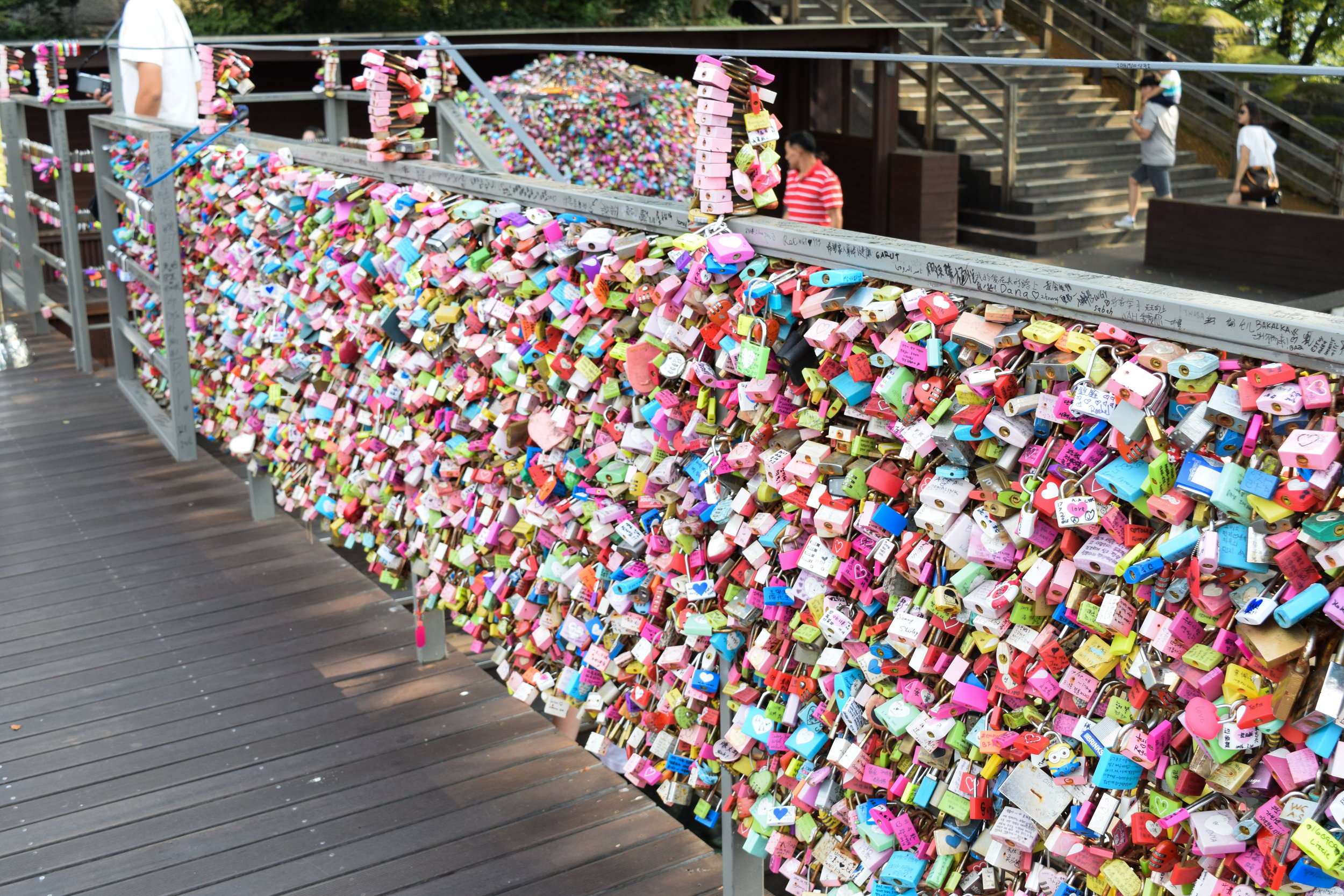 N Seoul Tower Locks