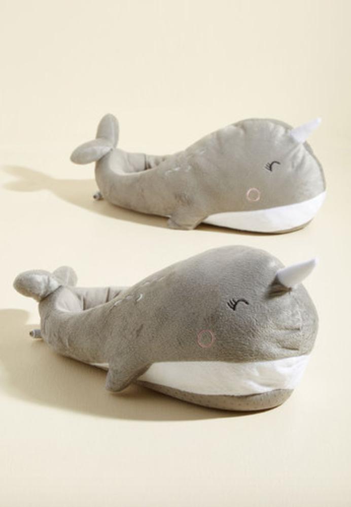 Sea-son to Snuggle USB Foot Warmers, Modcloth $40