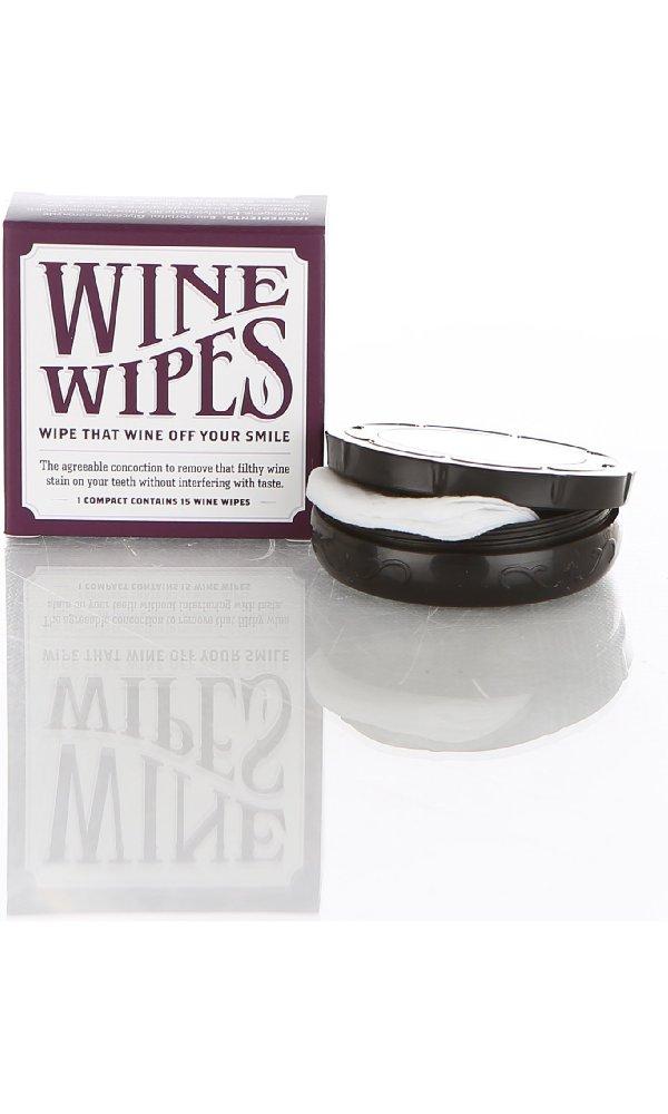 Wine Wipes, amazon $9
