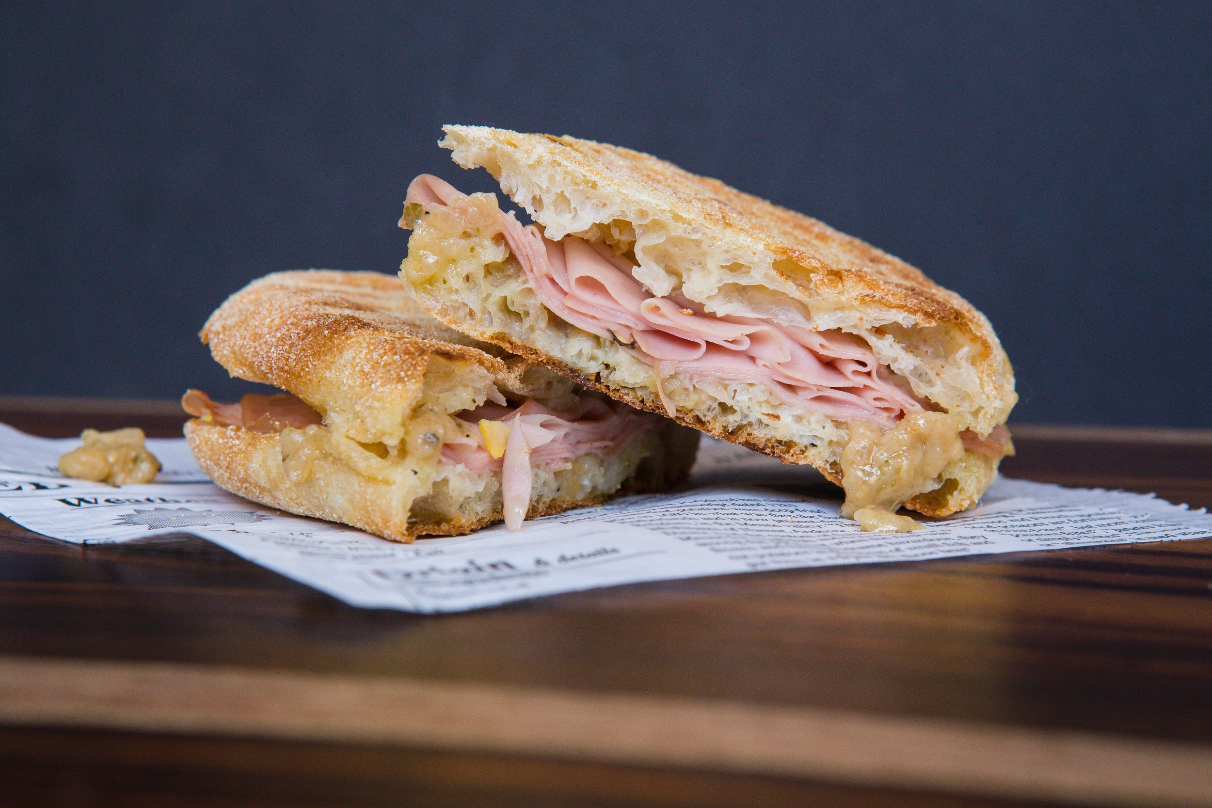 Mortadella with Truffled Artichoke Spread / Photo by Eric Vitale Photography