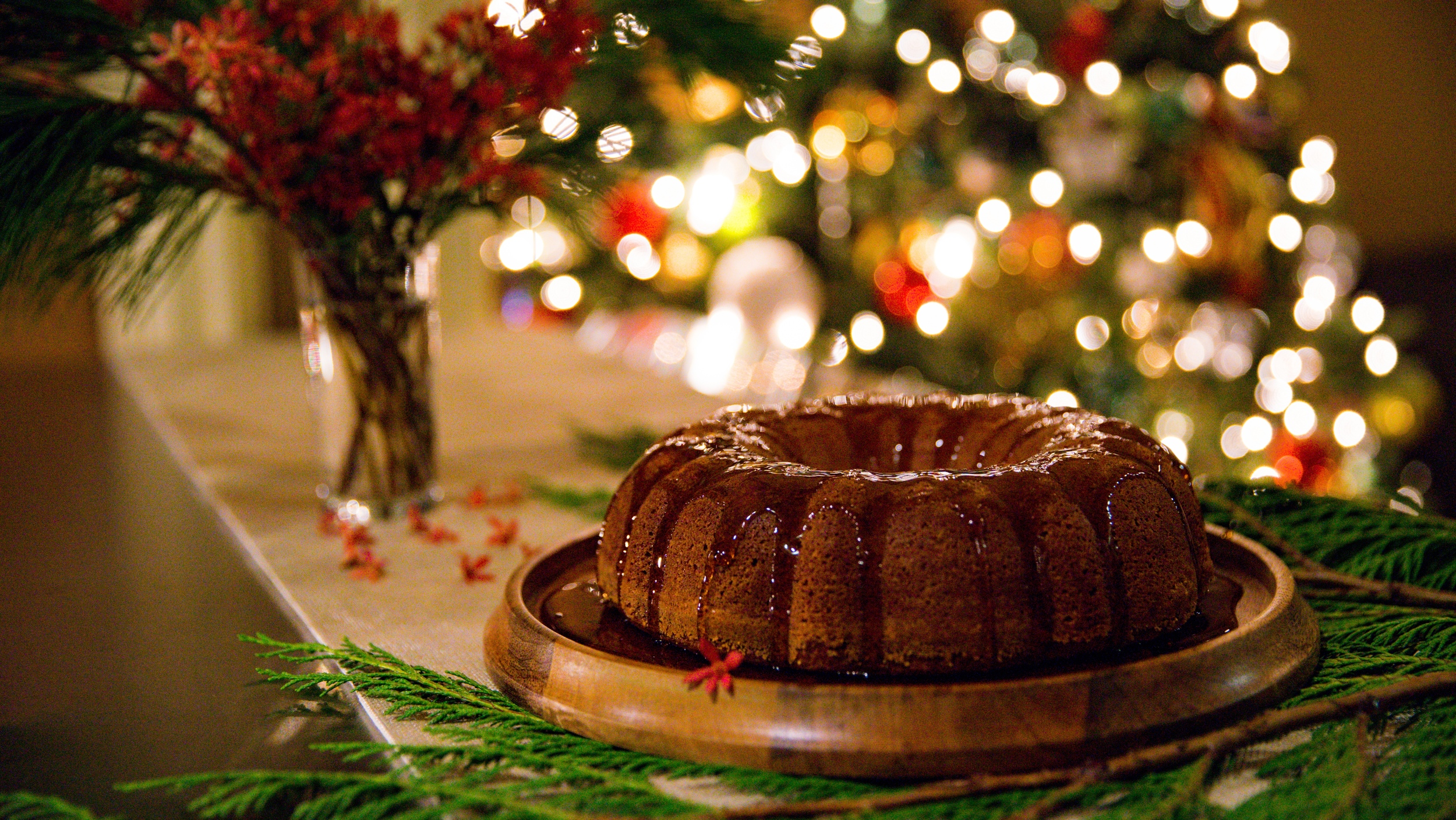 Almond Rum Cake