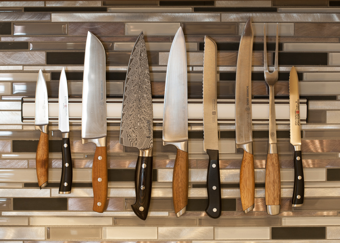 Some of my favorite knives. Photo by Andrea Patton Photography.