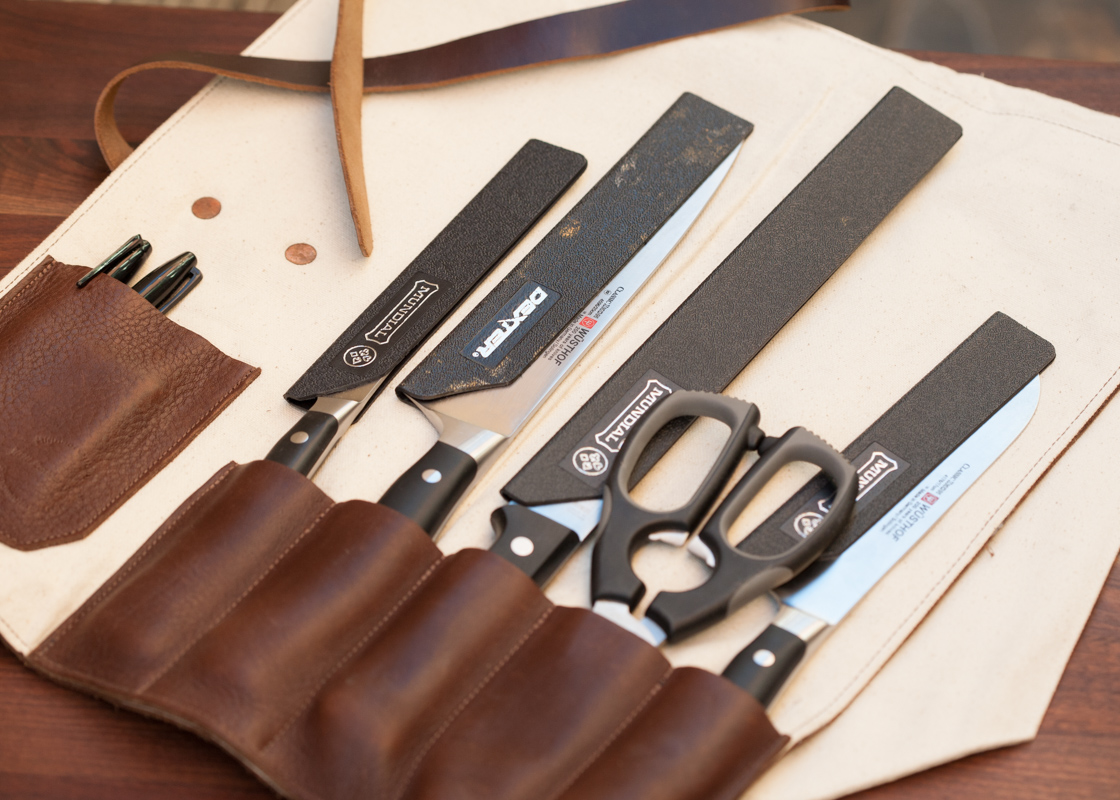 My Small Knife Roll. Photo by Andrea Patton Photography