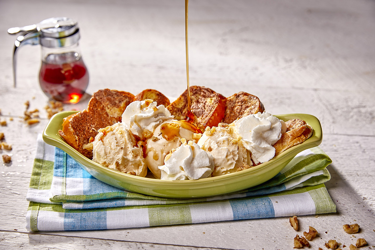 FRENCH TOAST SUNDAE