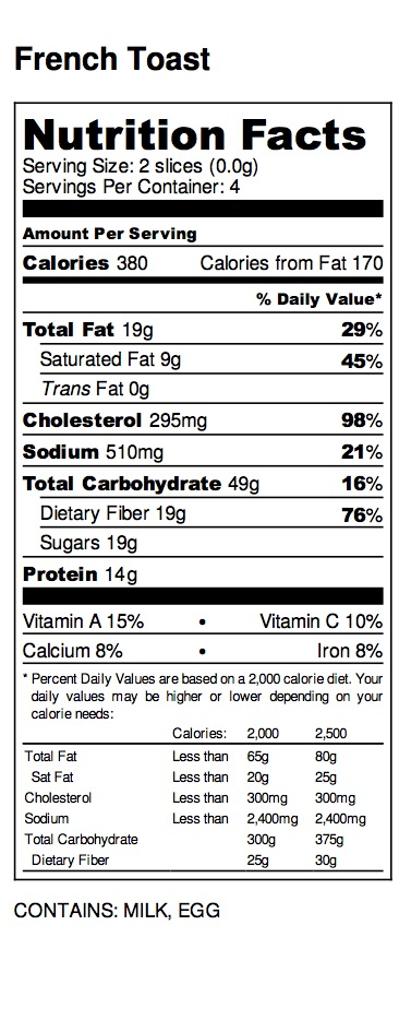 French Toast - Nutrition Label-2.jpg