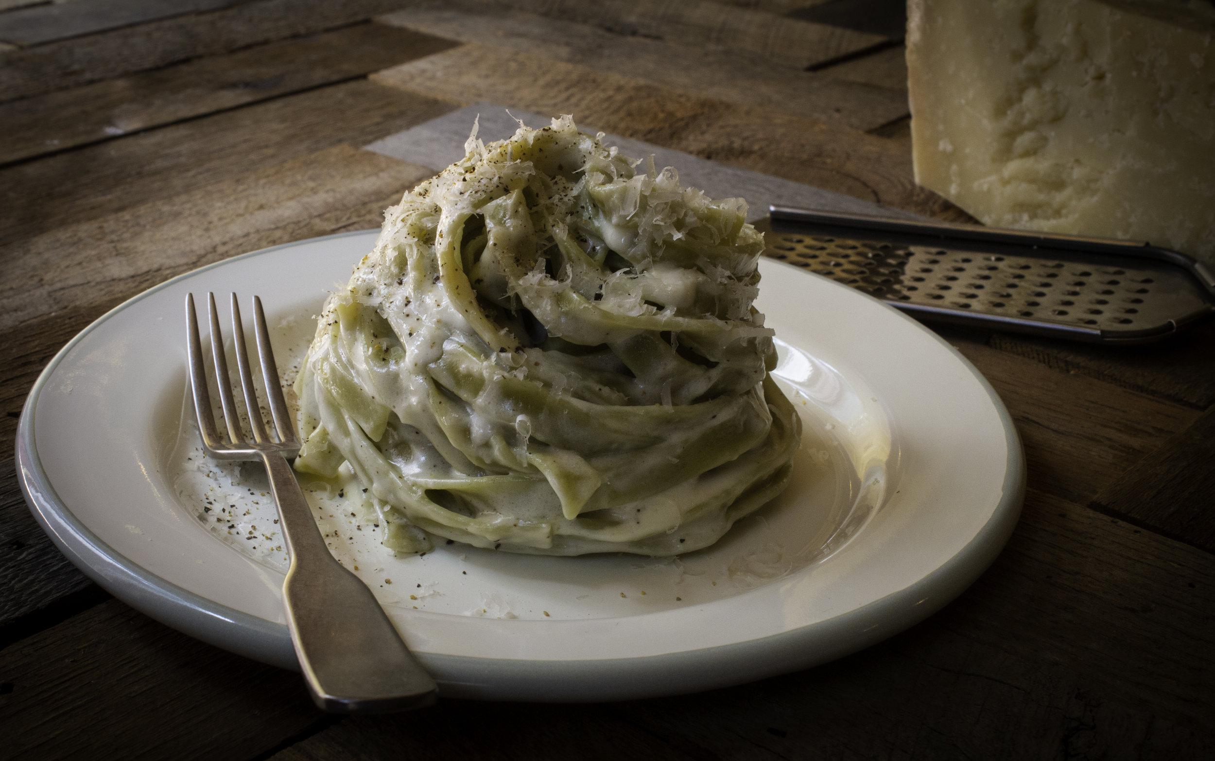 5-Minute Fettuccini Alfredo