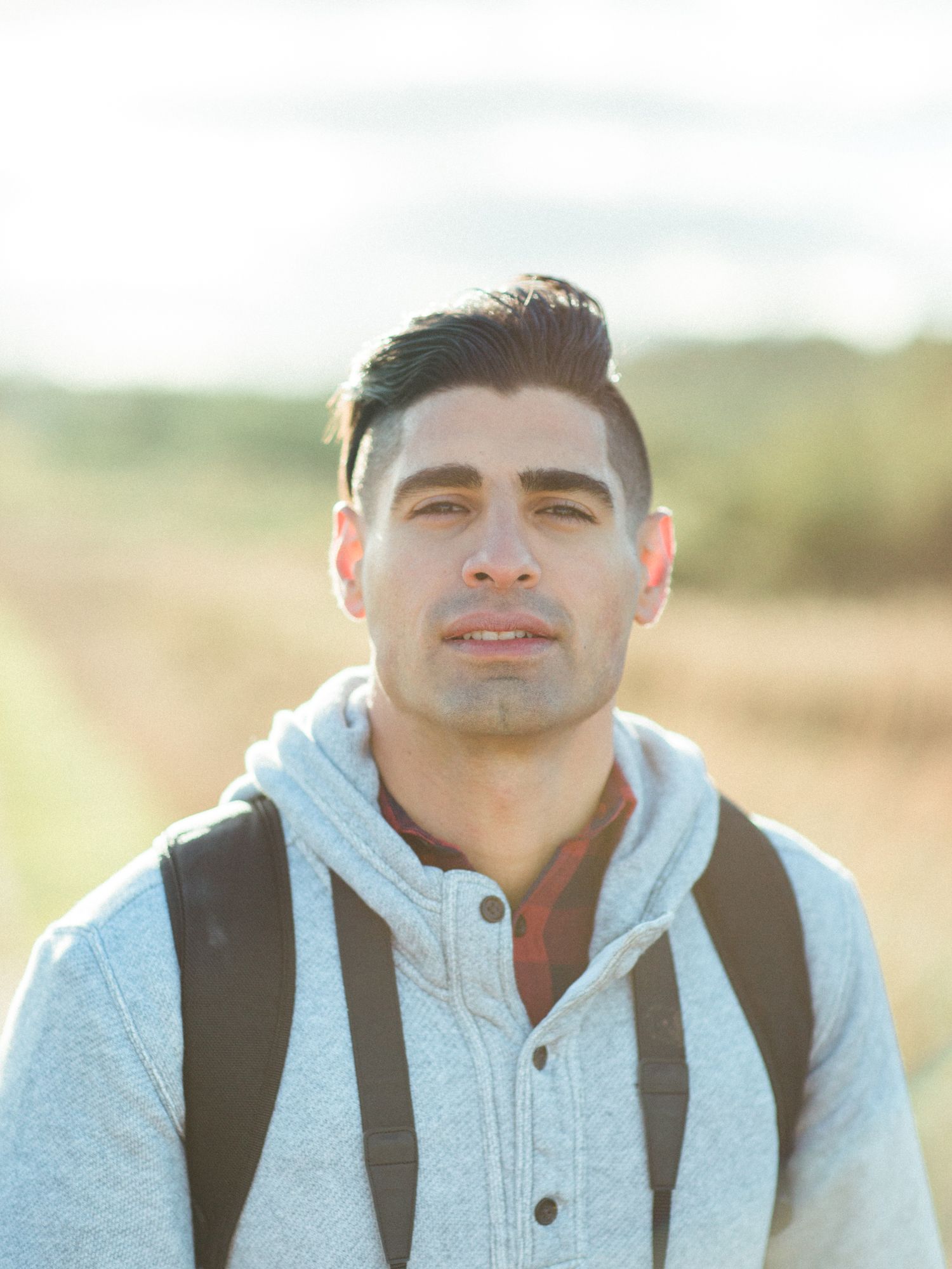 This weekend adventure was such spent with incredible company, and I'm so excited to share the photos I captured of Amir throughout our weekend. I absolutely love portraits, and this photo had me blushing as soon as I captured it. The light spilling in was like something from a fairytale!