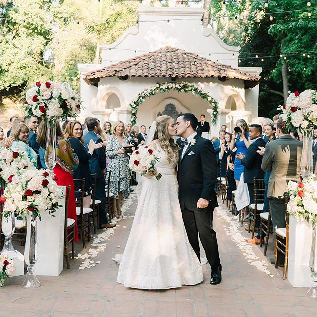 Congratulations to Alexandra & Antonio! You guys are an amazing couple and we couldn't be more excited for you.  Couple: @aplessier & @antonioandres3  Photographer: @jkp_amber Designer: @palomablancabridal Coordinator: @bellabevents Hair: @danielle_bajhart Makeup: @ocbridalhairmu Catering: @24carrotscatering Venue: @rancholaslomas DJ: @elevatedpulse Flower: @jennybfloraldesign Cake: @alittlesomethingsweetdesserts Officiant: @theweddingpastors #longlivelopez2019 #californiawedding #rancholaslomas