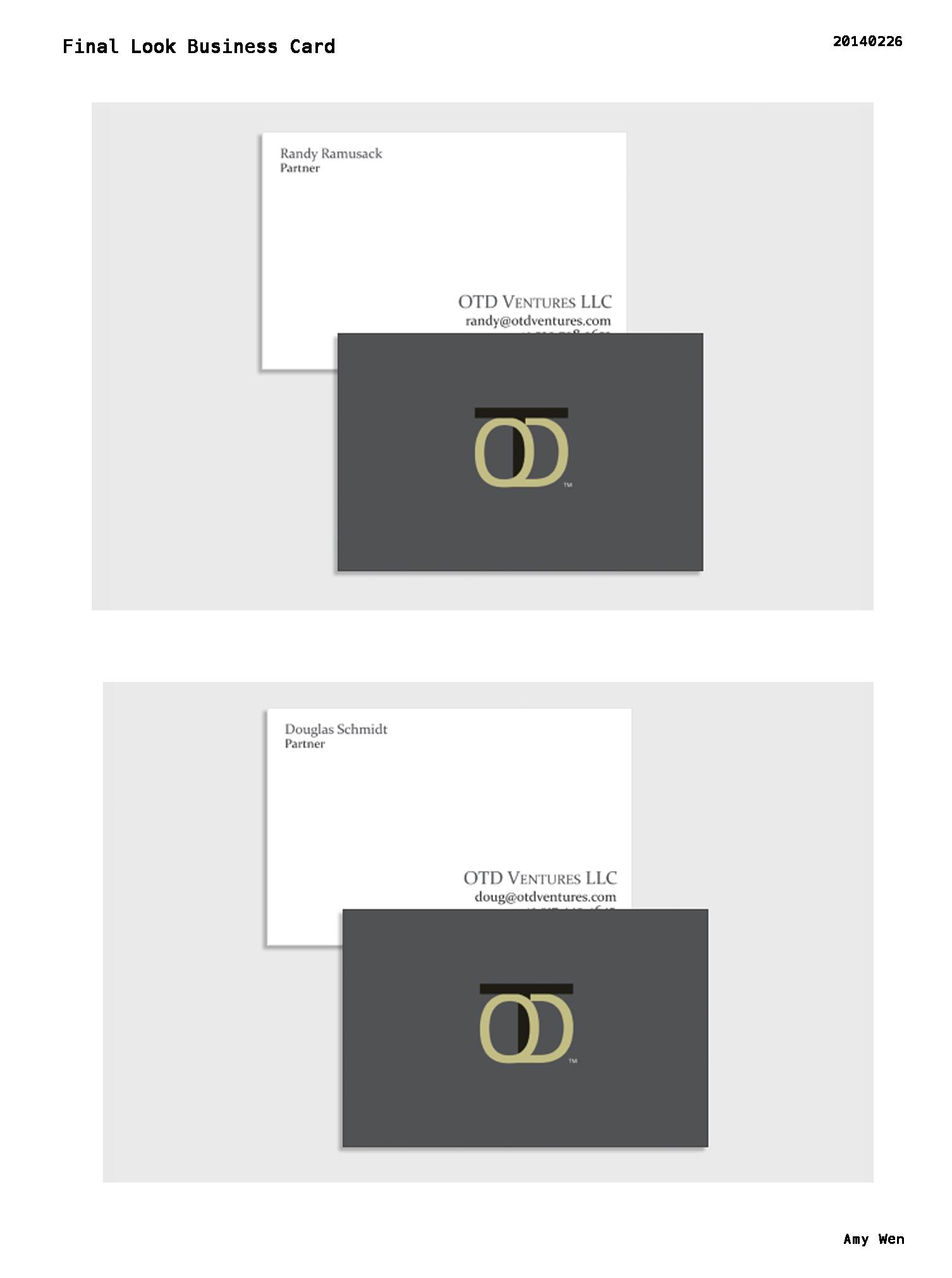 Logo and BusinessCard Design