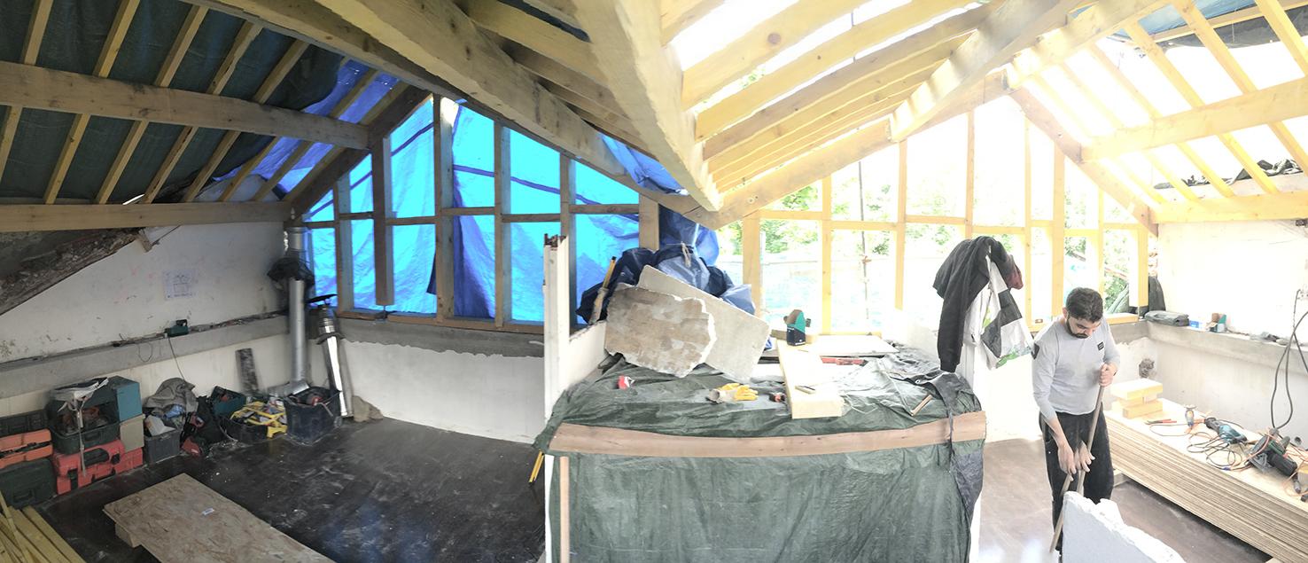 Et oui, la propreté d'un chantier est essentielle au bon déroulement!