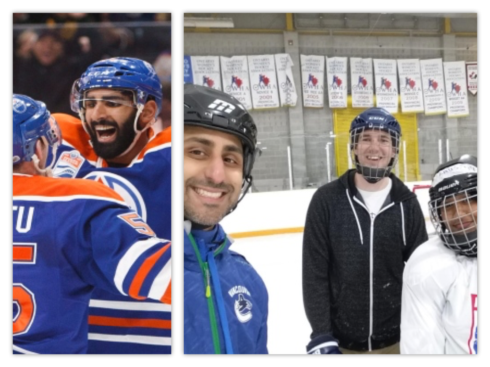 "CBC British Columbia article   ""Jujhar Khaira's goal another step forward for diversity in hockey.""    Written by Andrew Kurjata, this article focuses on Jujhar's first NHL goal, the impact on diversity & our Executive Director's effort to #GivingHockey to more new Canadian youth."