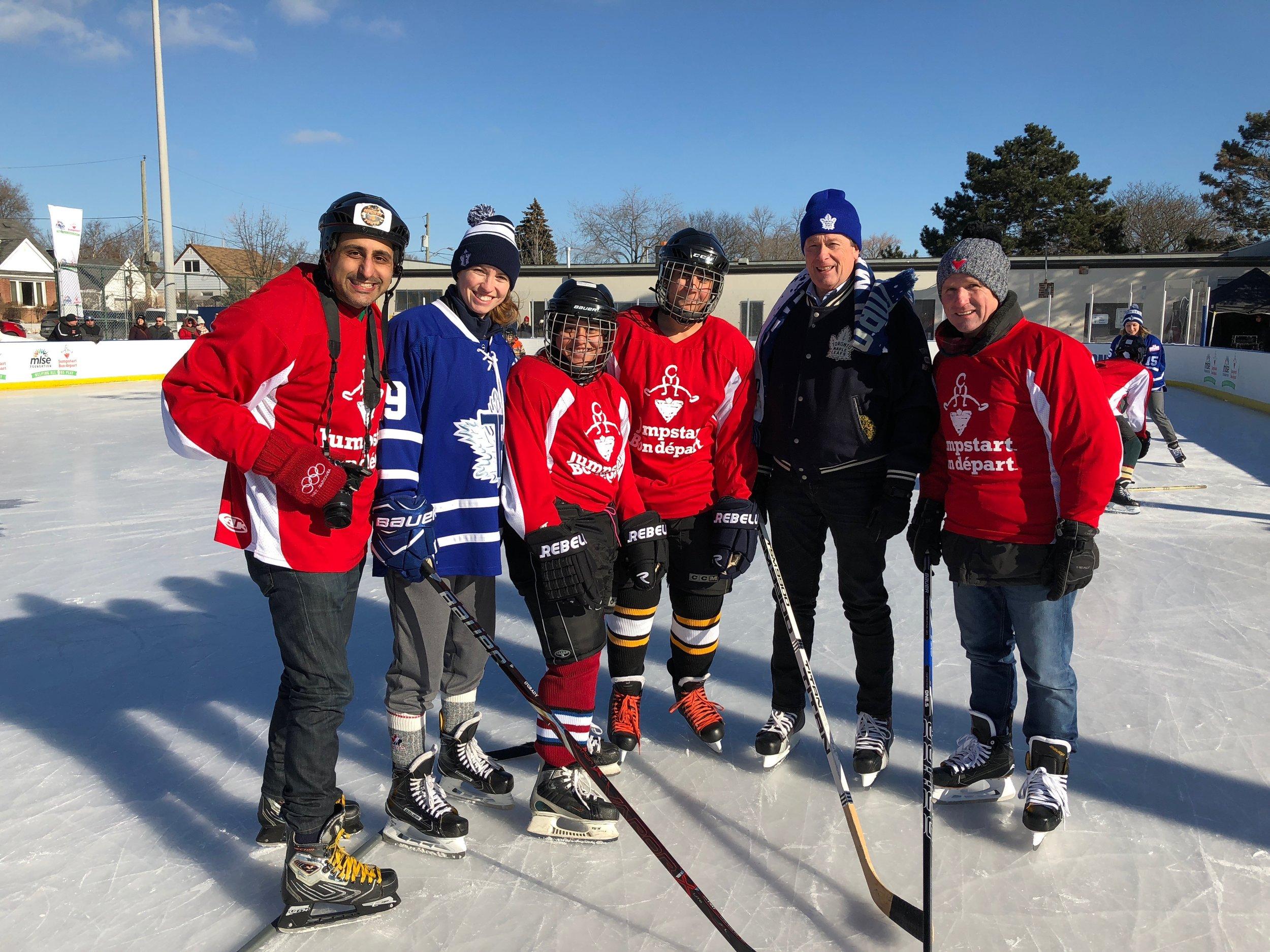 Jumpstart outdoor skate with Mayor Tory and President Scott Fraser.jpg