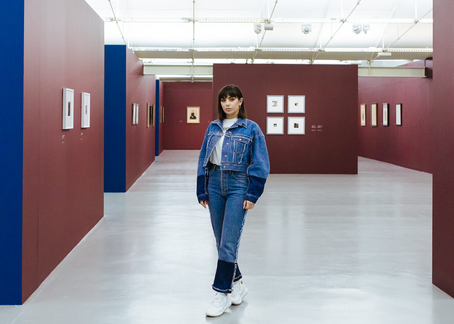 """Charli XCX, Tate Liverpool. July 2018. - Charli XCX responds to the """"mother of the selfie"""" & depictions of the female form with an open, public conversation.Working in partnership with Tate Liverpool, RRUNEWS invited Charli to Liverpool to respond to the themes of """"Life in Motion: Egon Schiele/Francesca Woodman"""", an exhibition running at Tate Liverpool.Photography commissioned by RRUNEWS Liverpool."""