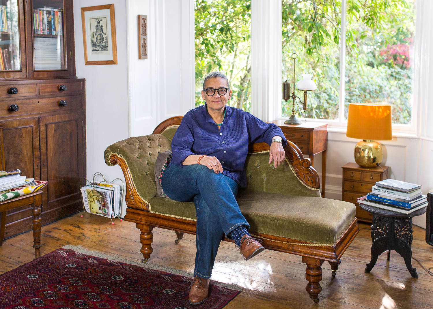 """Lubaina Himid MBE. """"Random Coincidence""""- October 2018. - Turner Prize winner Lubaina Himid creating her most recent artworks """"Random Coincidence"""".This work comes in response to a week Lubaina spent as artist in residence at The Guardian.Random Coincidence was unveiled by the artist on 23rd November 2018 at the Liverpool Central Library.Photography commissioned by RRUNEWS Liverpool."""
