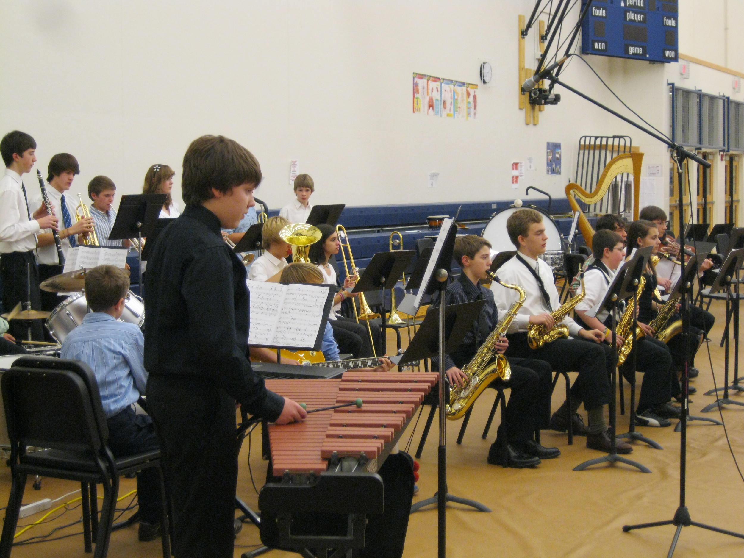 the first jazz band