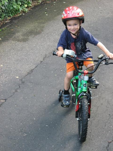 The Green Bike(r)!
