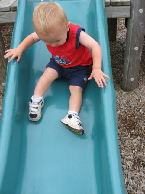 Down the Slide