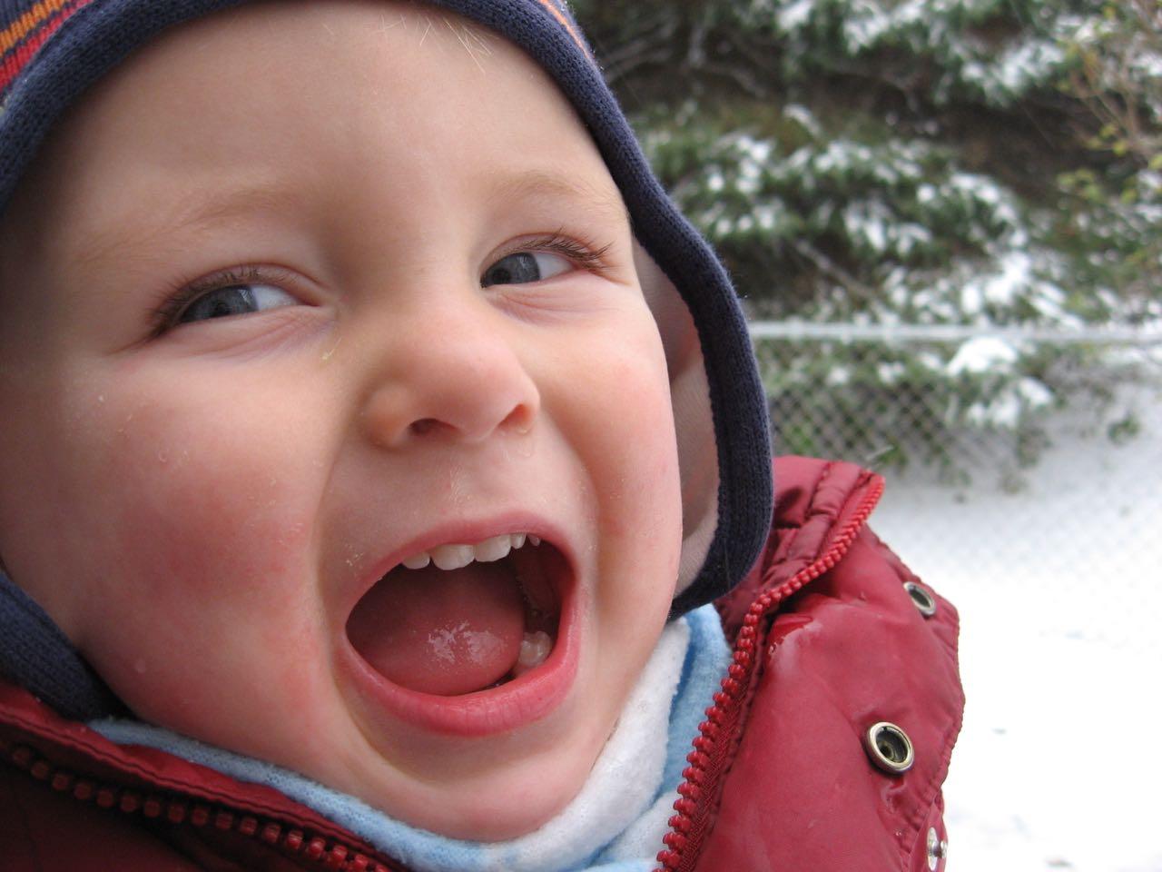 Yeah, snow!!!