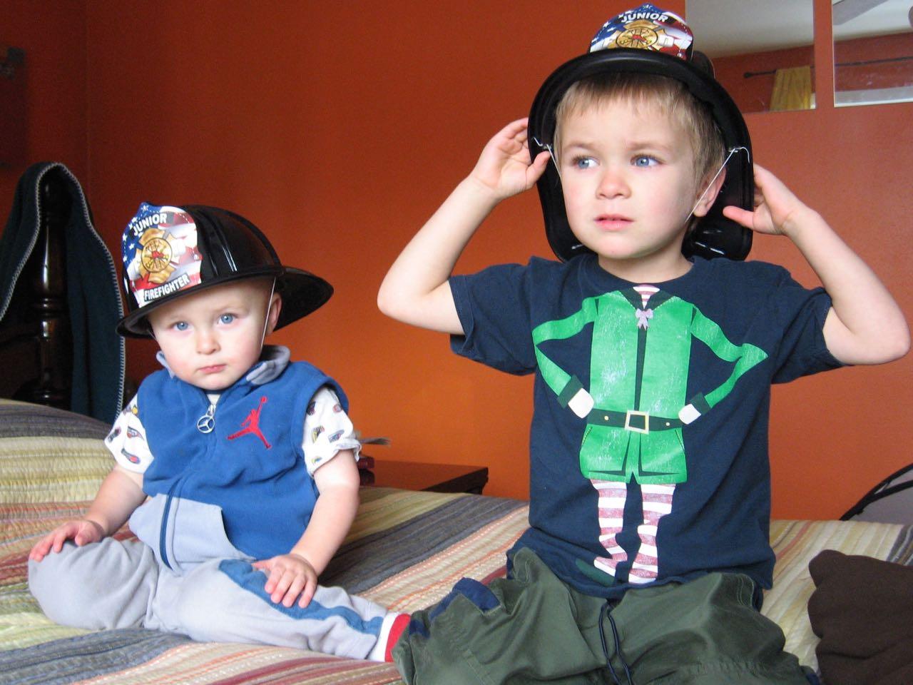 Firemen on duty