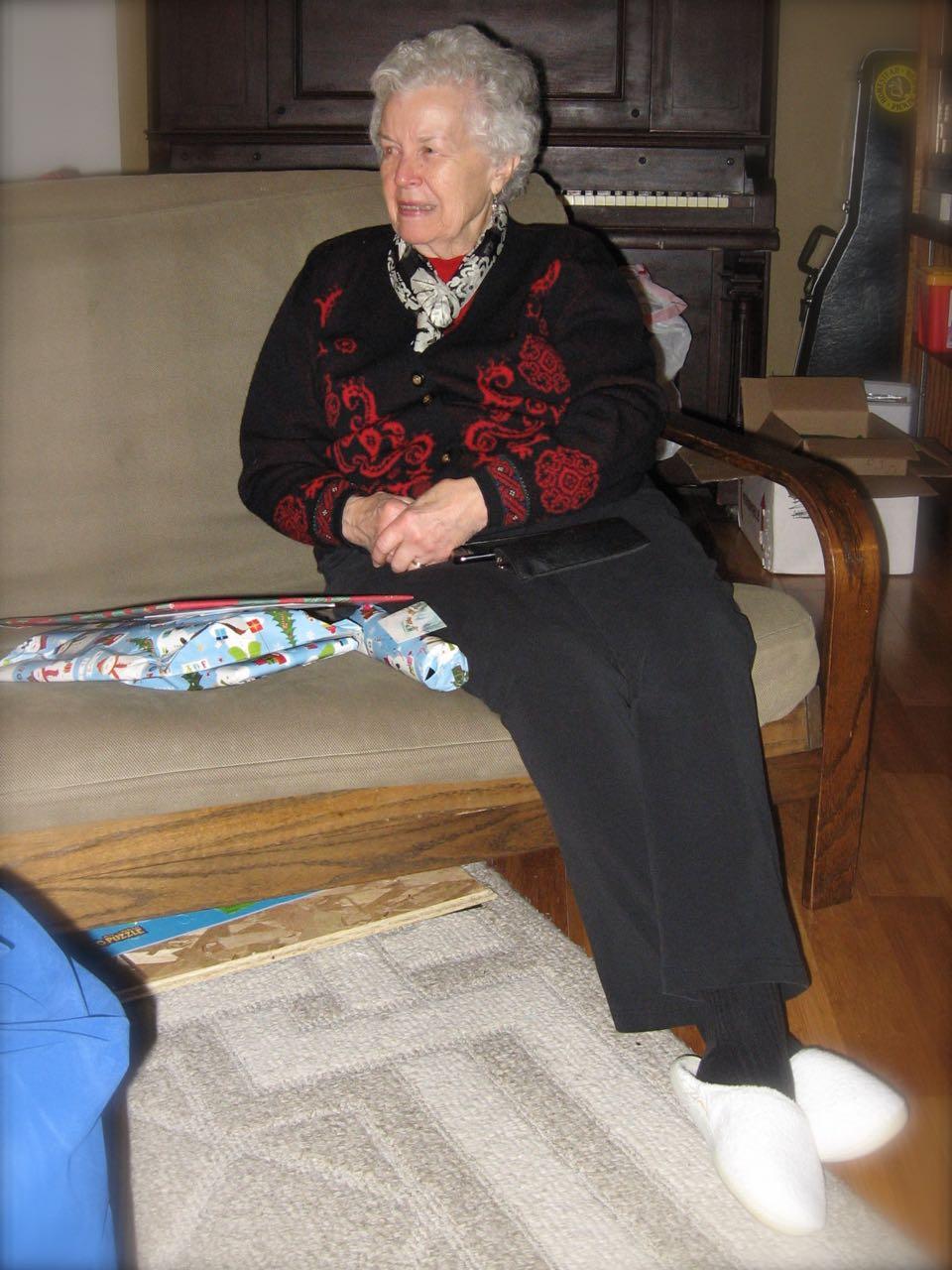 Grandma Tony loves Christmas!