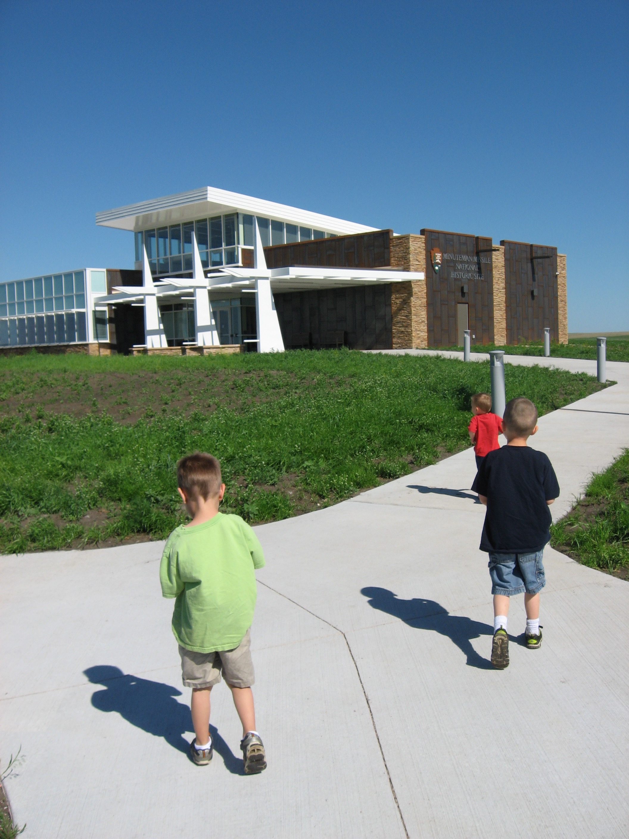 Racing to the Minuteman Missile Visitor Center