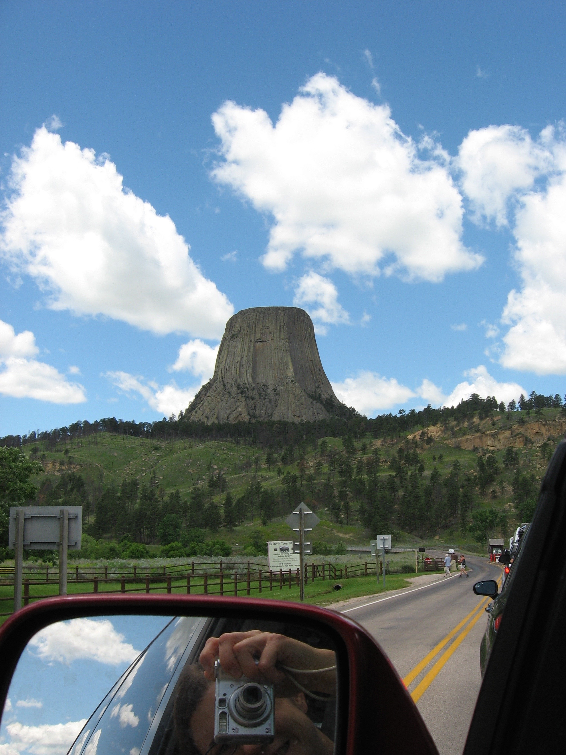 Outside Devils Tower