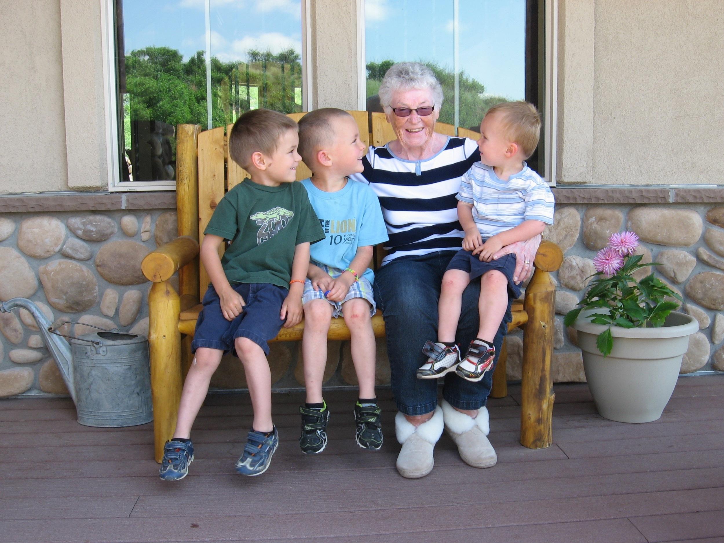 Boys + Nana!