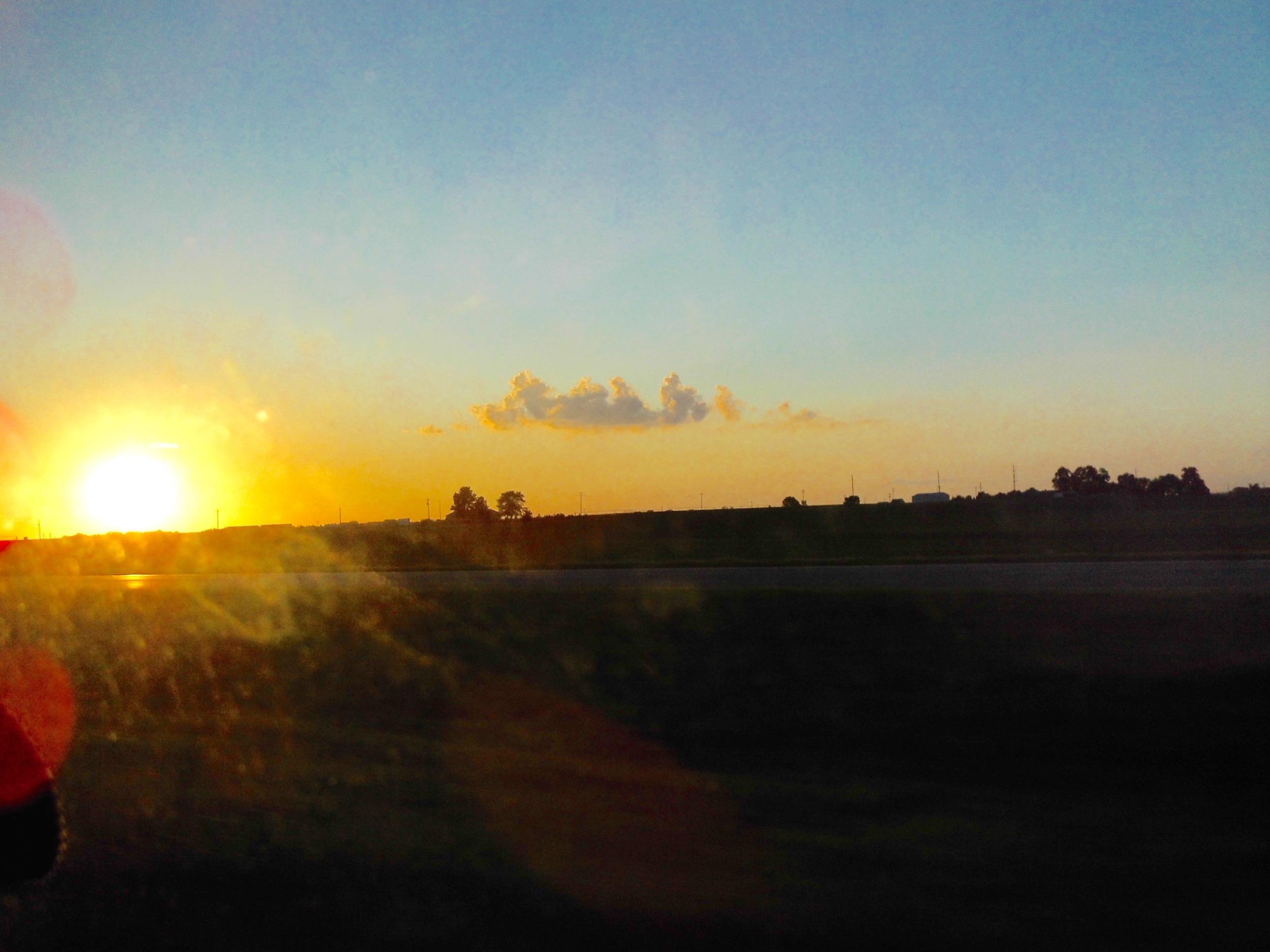 Ah, Sunset!
