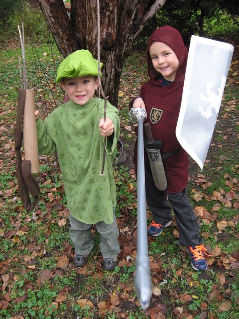 Robin Hood and Ivanhoe