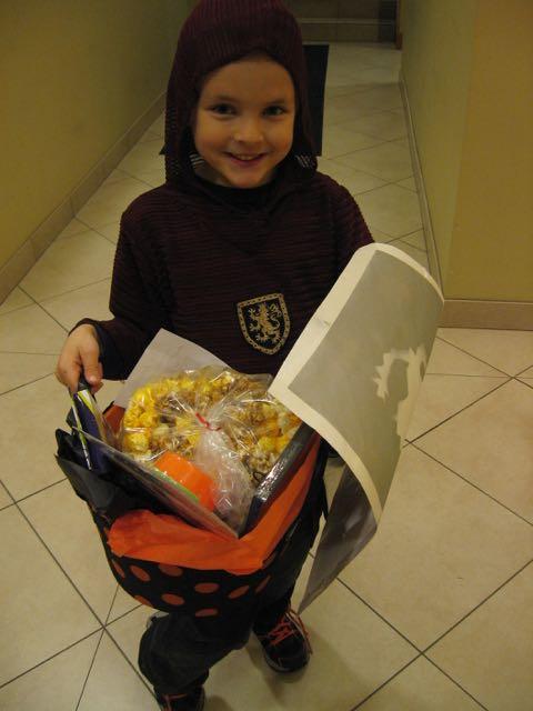 The prize basket!