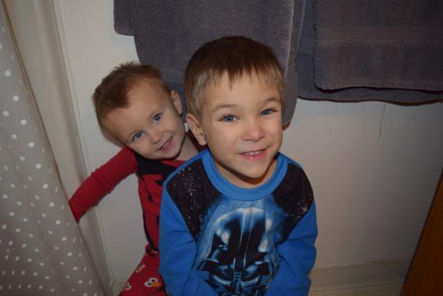 Boys in the Bathroom