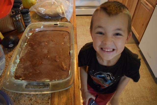 Mint Brownies!