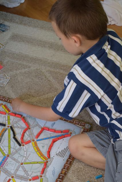 Ticket to Ride, again