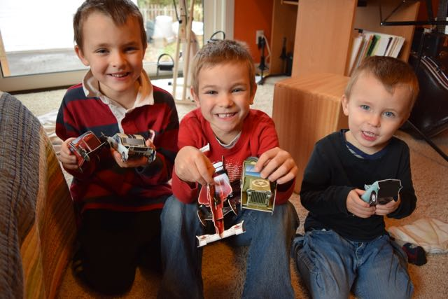 Model Cars!...from a book
