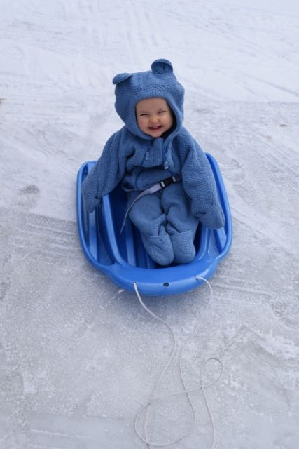"""I think I'm gonna like this!"""
