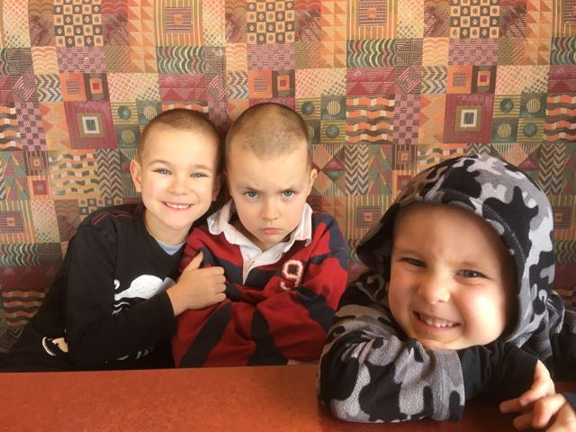 (Micah is not actually mad.)