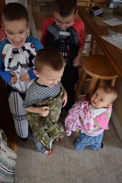 New Jammies for EVERYONE!